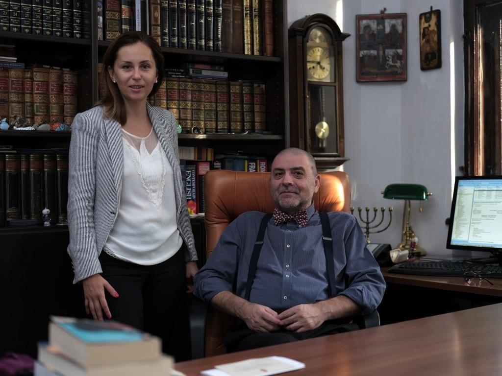 Raluca Yvonne Ionas si George Butunoiu